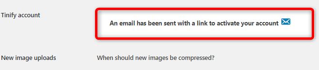 入力したメールアドレス宛に認証メールを送信しました。という文章が表示されます。