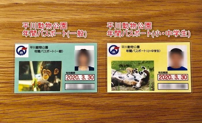 平川動物公園の年間パスポート