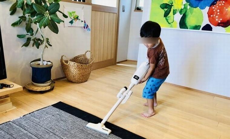家を大掃除