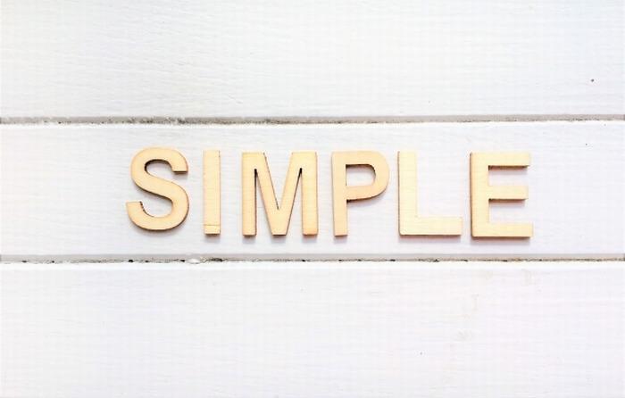 ブログの文章は簡単、わかりやすく